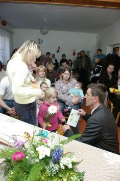 blahopřání mamince Petry Lundákové
